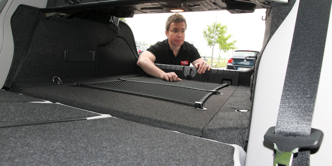 BMW Dreier Touring, Ladefläche