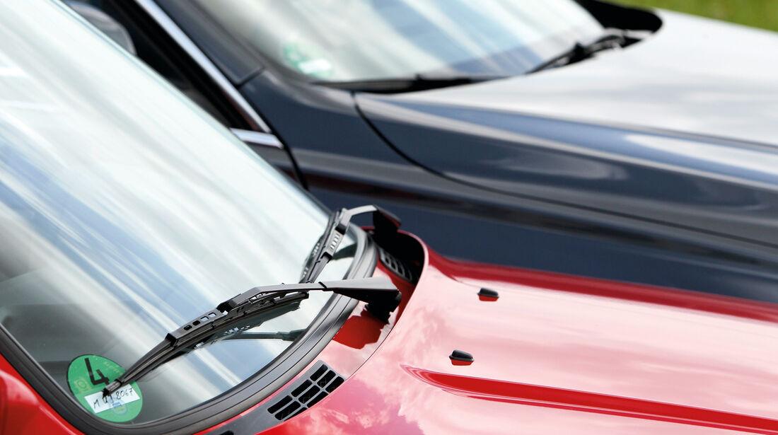 BMW Dreier Touring, Motorhaube