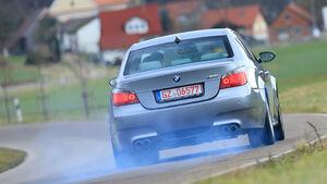 BMW F10, Heckansicht