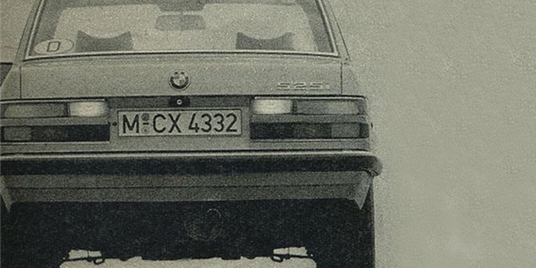 BMW, Fünfer, IAA 1981
