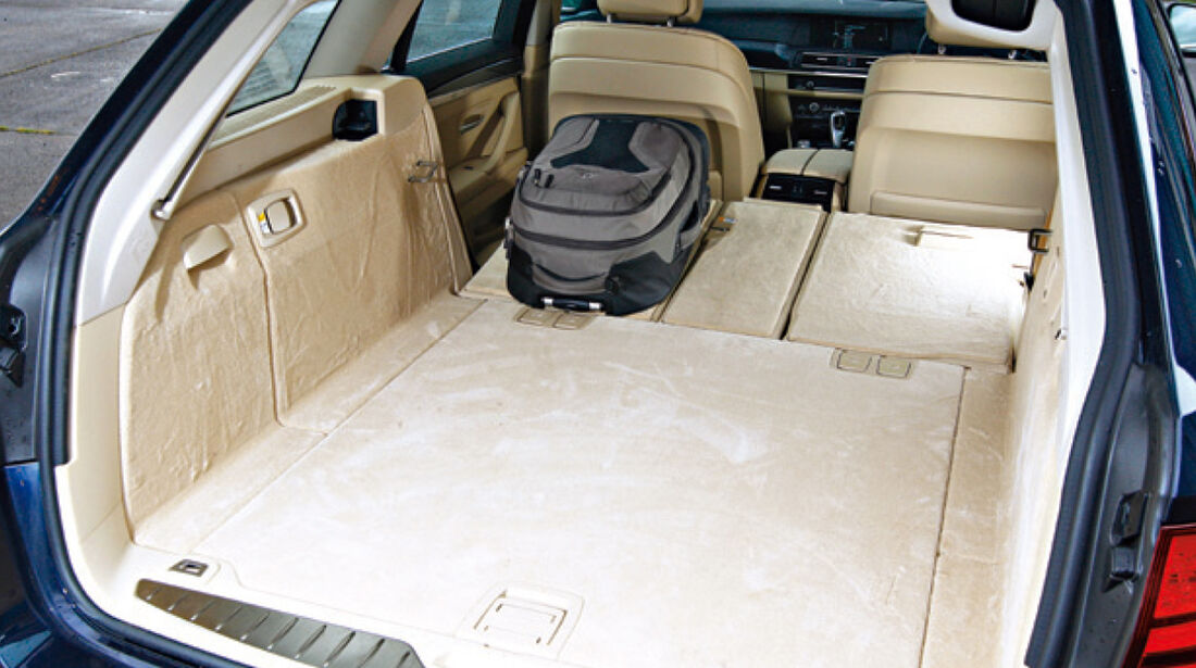 BMW Fünfer Touring, Ladefläche, Kofferraum