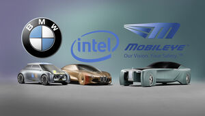 BMW Kooperation Allianz mit Intel und MobilEye