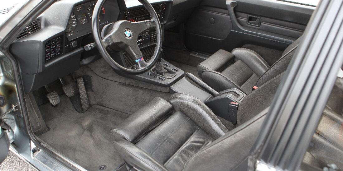 BMW M 635 CSi Typ E 24, Cockpit, Detail
