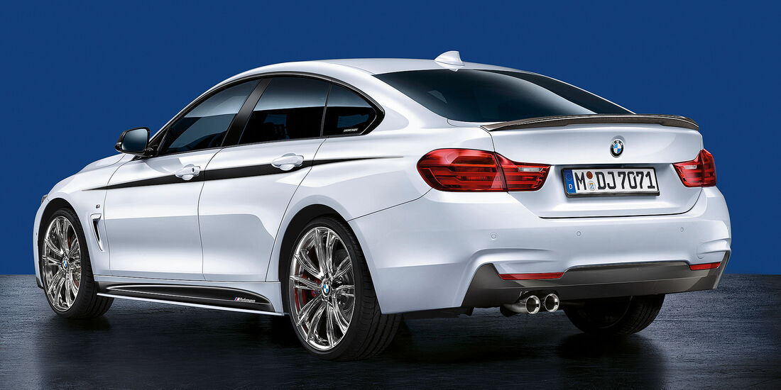 BMW M Performance Active Sound Auspuff