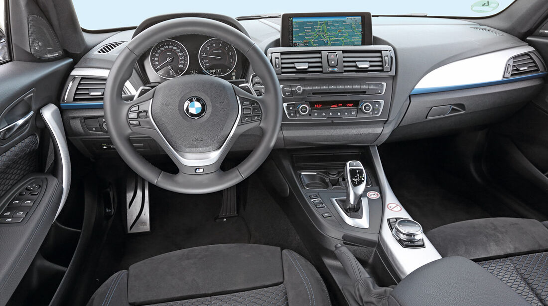 BMW M135i xDrive, Cockpit