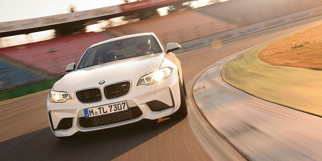 BMW M2 Coupé, Frontansicht