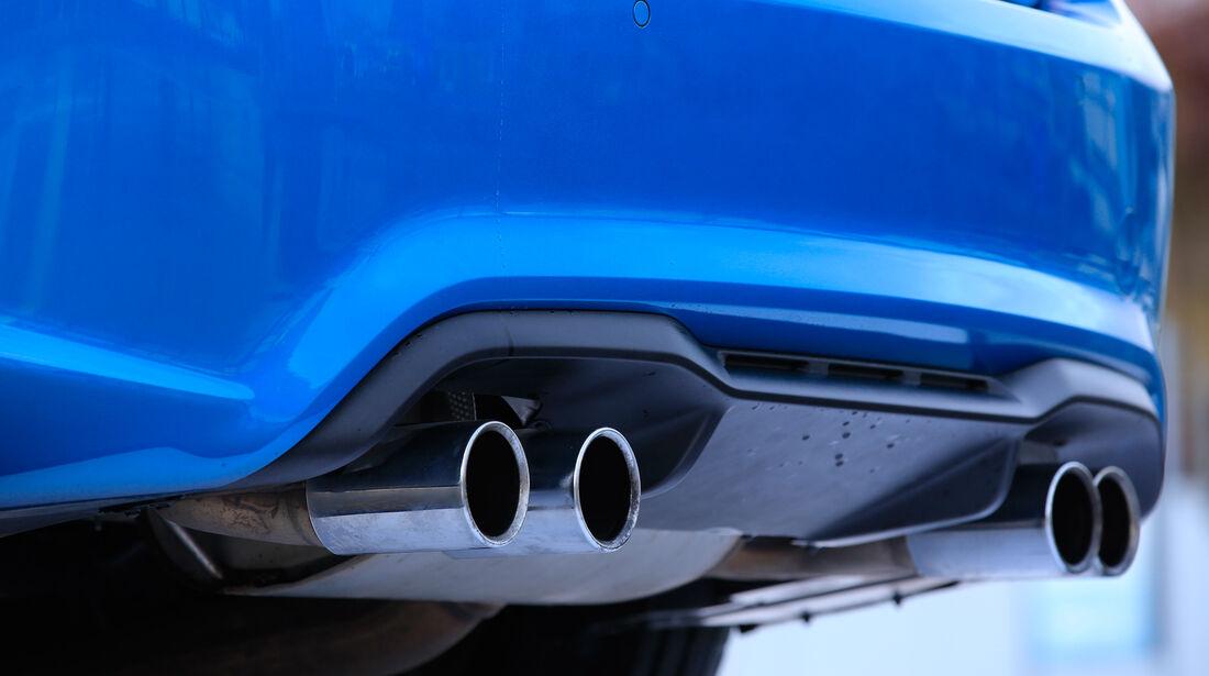 BMW M2, Endrohre