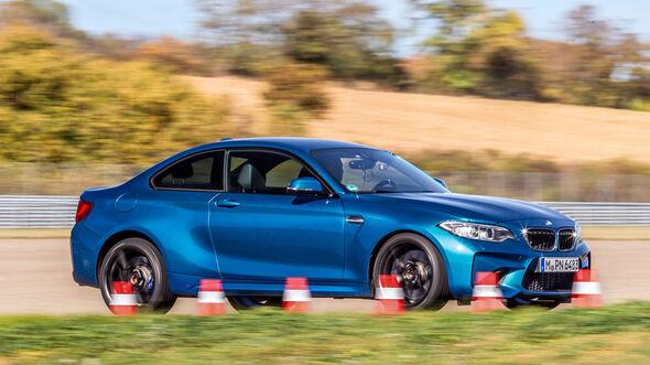 BMW M2 - Sommerreifentest 2018 - sport auto