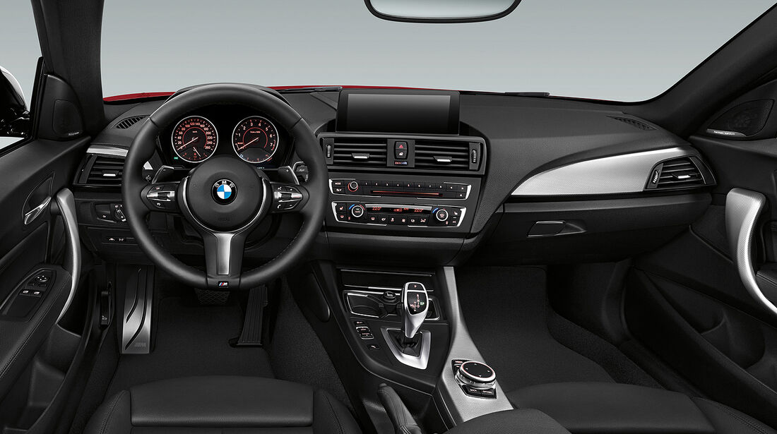 BMW M235i Coupé, Cockpit