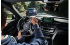 BMW M3, Cockpit, Fahrersicht