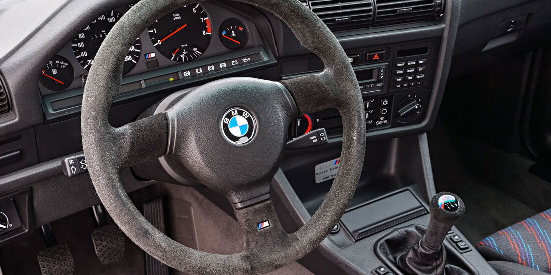 BMW M3 E30 Evo - Lenkrad - Innenraum
