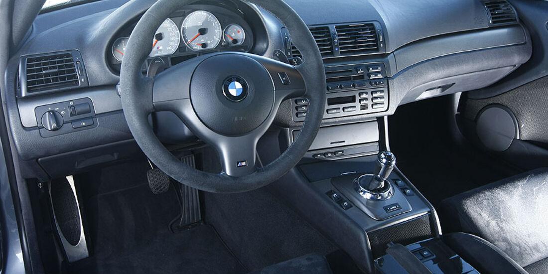 BMW M3 E46,Cockpit