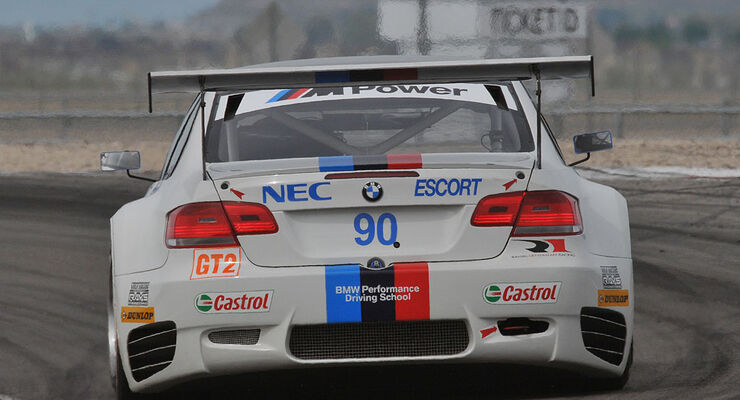BMW M3 GT2 Rahal Letterman Racing Team Utah Grand Prix (05/2009)