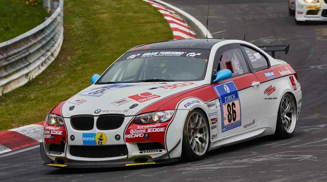 BMW M3 GT4 - Team Securtal Sorg Rennsport - Startnummer: #86 - Bewerber/Fahrer: Frank Elsässer, Oliver Bender, Stefan Beyer, Paul Follett - Klasse: SP10 GT4