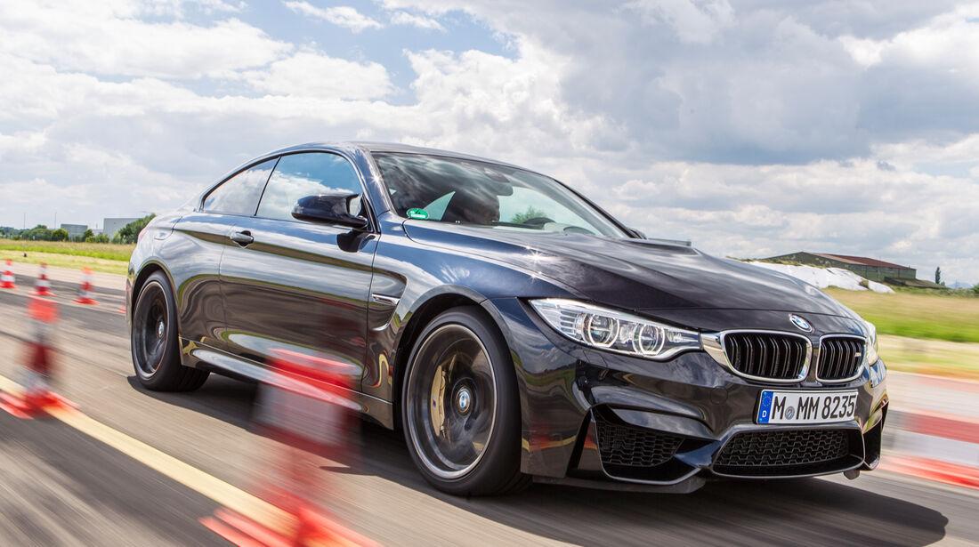 BMW M4, Bremstest