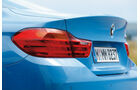 BMW M4 Coupé, Heckschürze