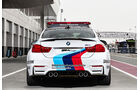 BMW M4 Coupé Safety Car, Heckansicht