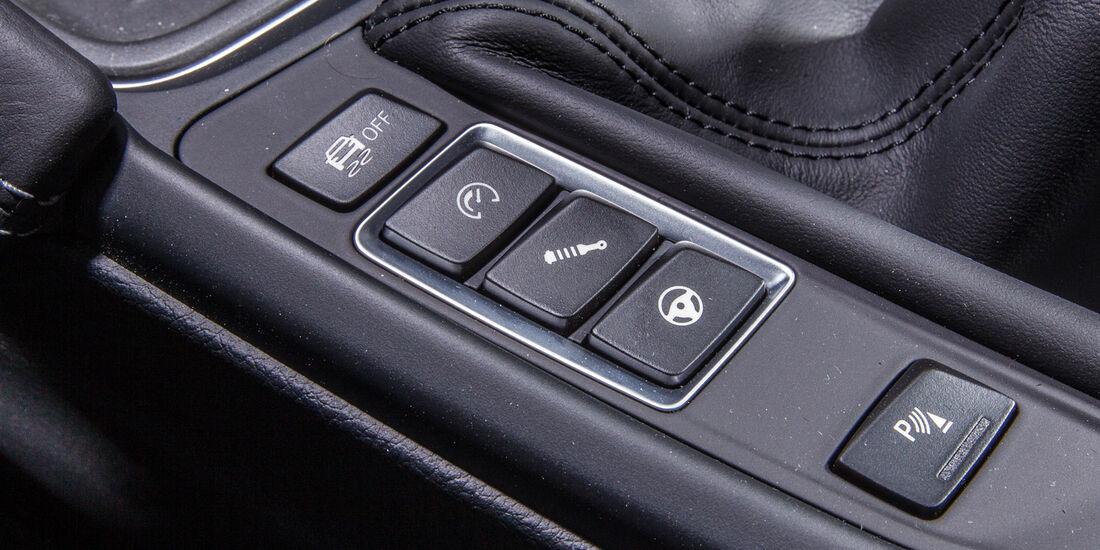 BMW M4, Mittelkonsole