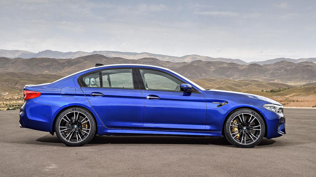 BMW M5 2018, Sperrfrist 21.8.2017 19.10 Uhr