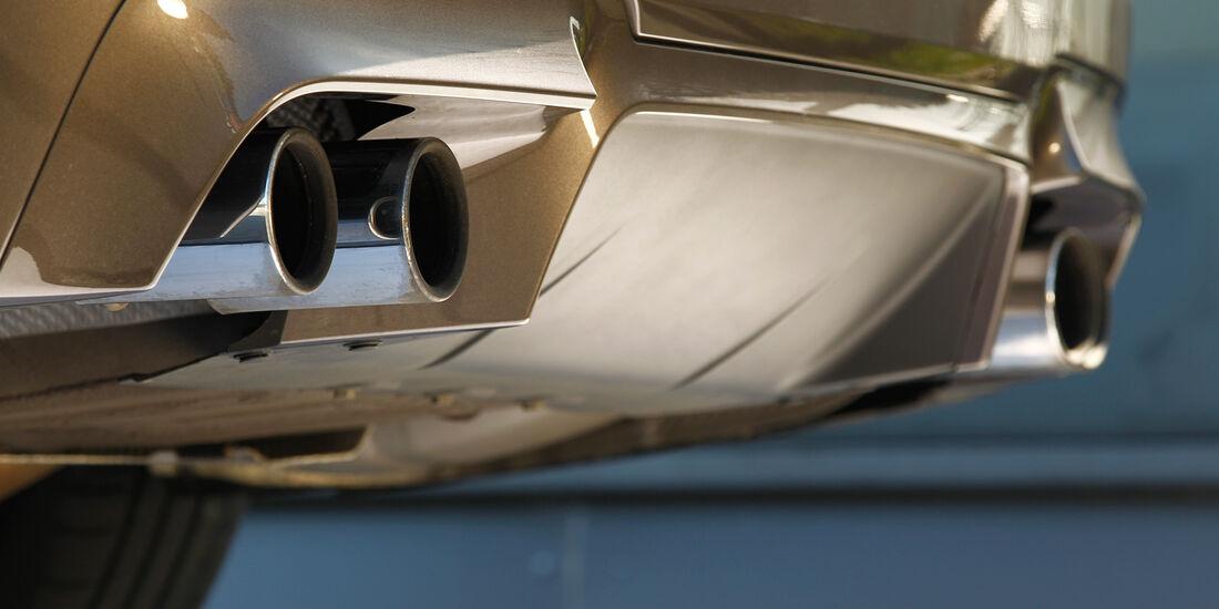 BMW M5, Auspuff, Endrohr