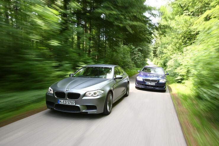 BMW M5, BMW Alpina B5 Biturbo, Frontansicht