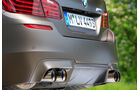 BMW M5 Competition, Endrohre