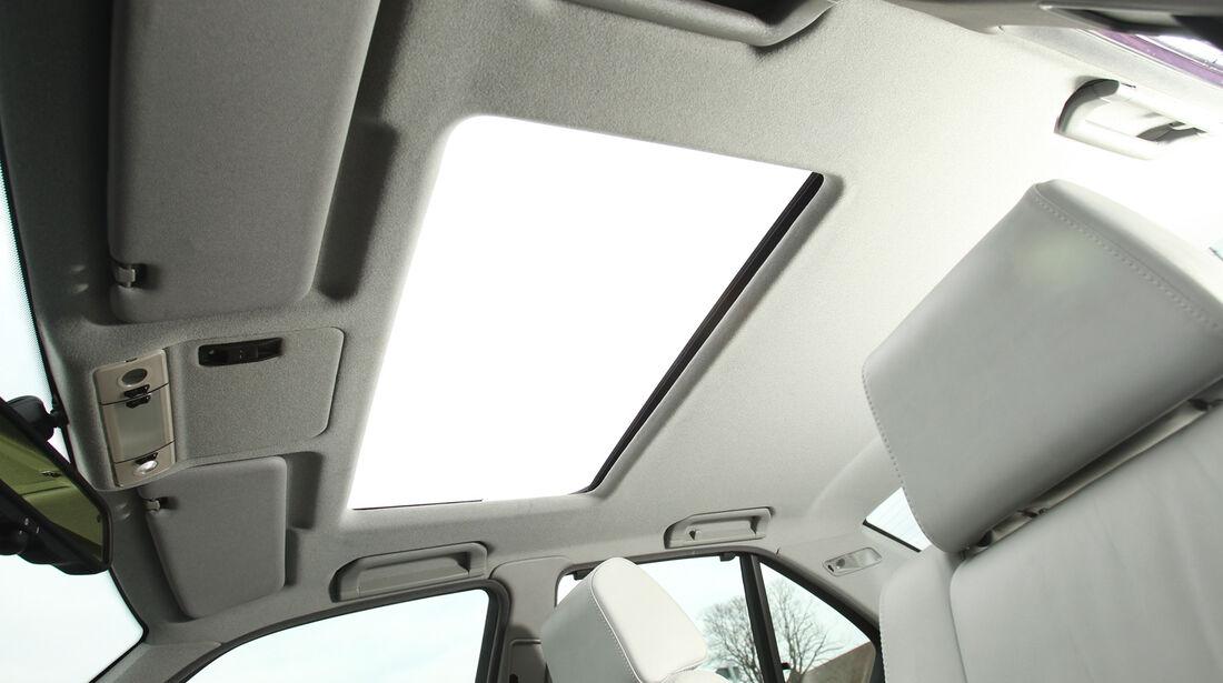 BMW M5, Dachfenster, Himmel