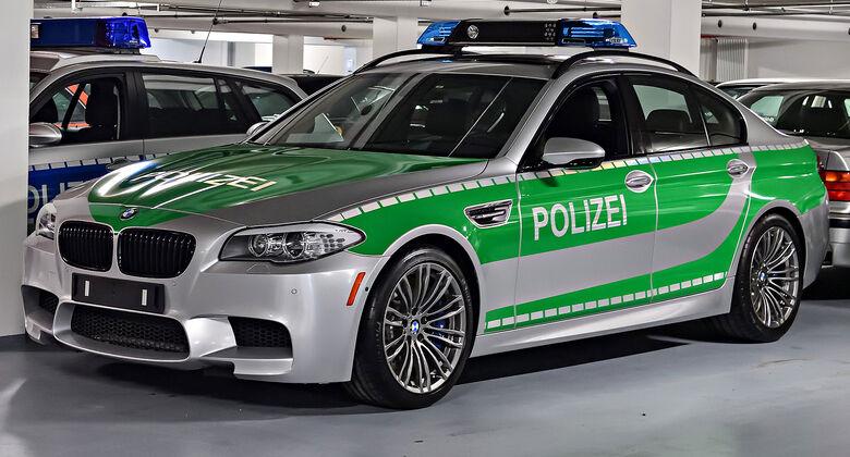 BMW M5 F10 Polizei BMW Classic Depot