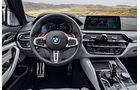 BMW M5 F90 - Business-Limousine - Cockpit