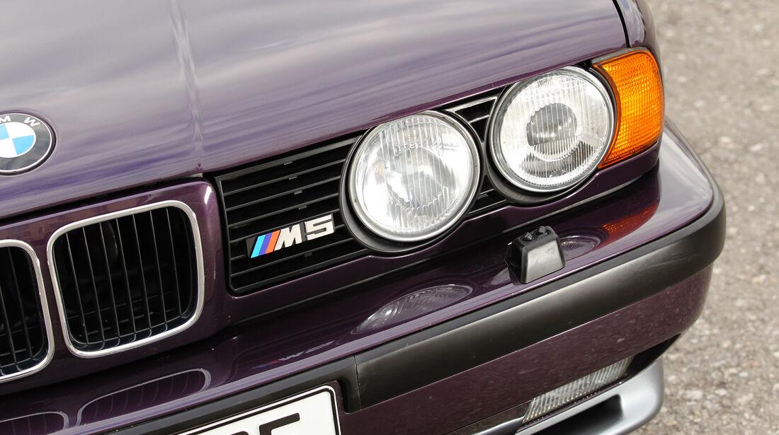 BMW M5, Kühlergrill, Scheinwerfer