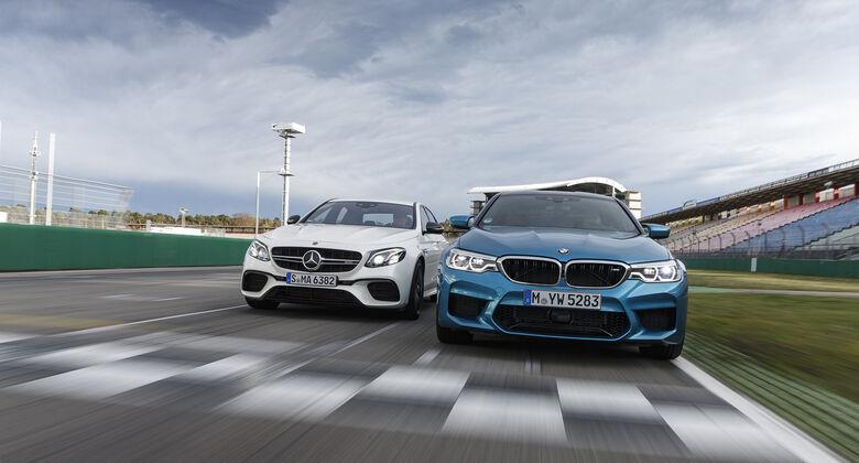 BMW M5, Mercedes-AMG E 63 S 4Matic+, Exterieur
