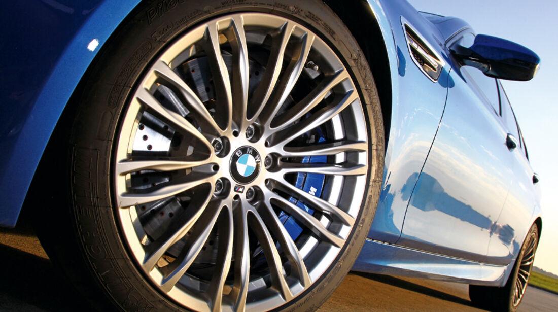 BMW M5, Rad, Felge
