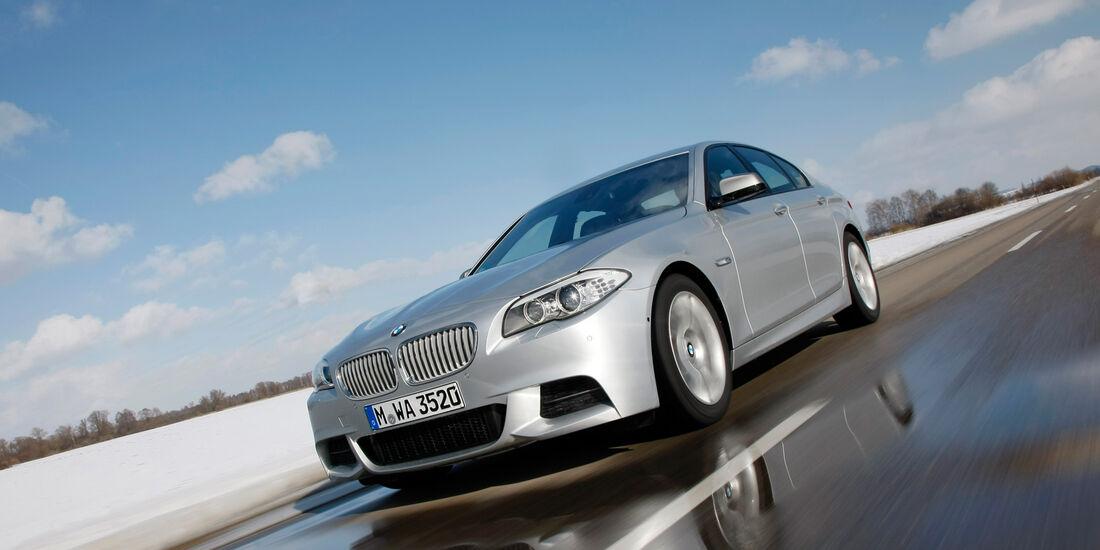 BMW M550d xDrive, Seitenansicht