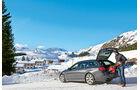 BMW M550d xDrive Touring, Winterausflug