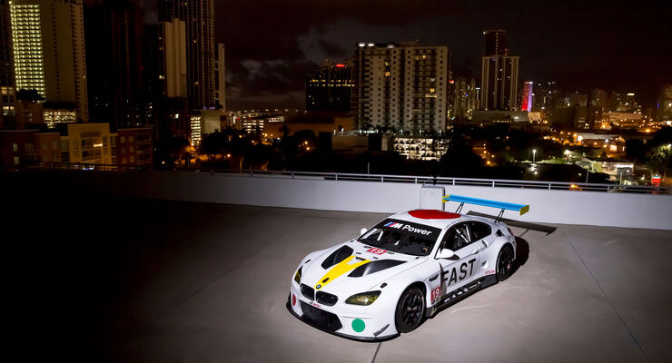 BMW M6 GTLM - Art Car - Rennwagen - Motorsport - John Baldessari
