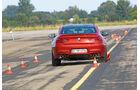 BMW M6, Heckansicht, Slalom