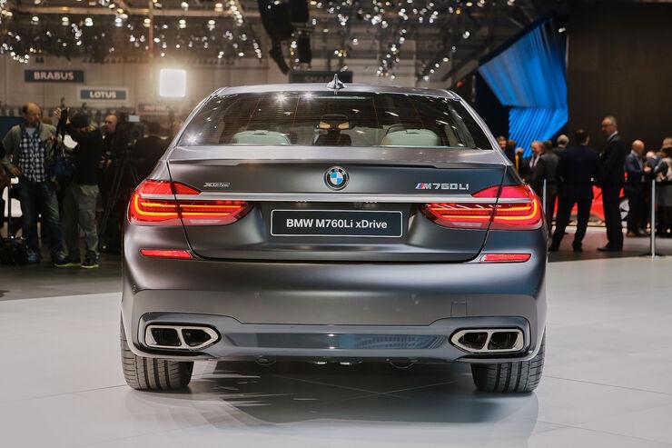 BMW M760Li XDrive Mit 600 PS V12 Biturbo