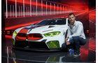 BMW M8 GTE Rennwagen
