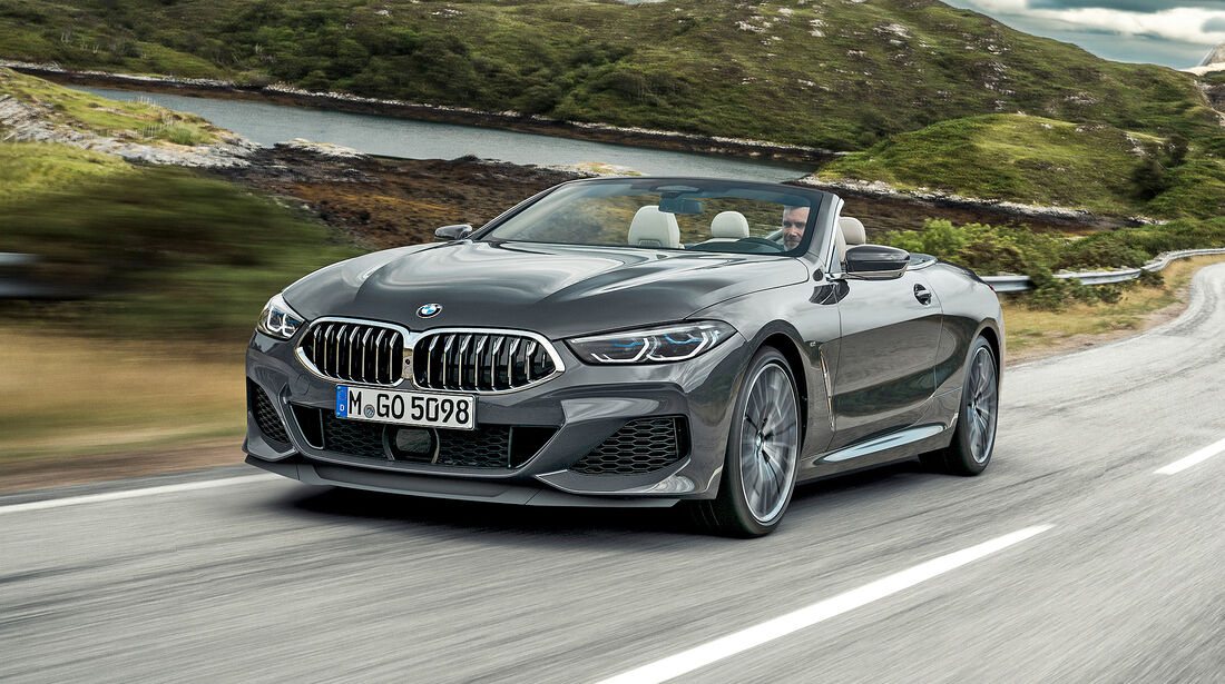 BMW M850i xDrive Cabriolet - Serie - Cabrios bis 150000 Euro - sport auto Award 2019