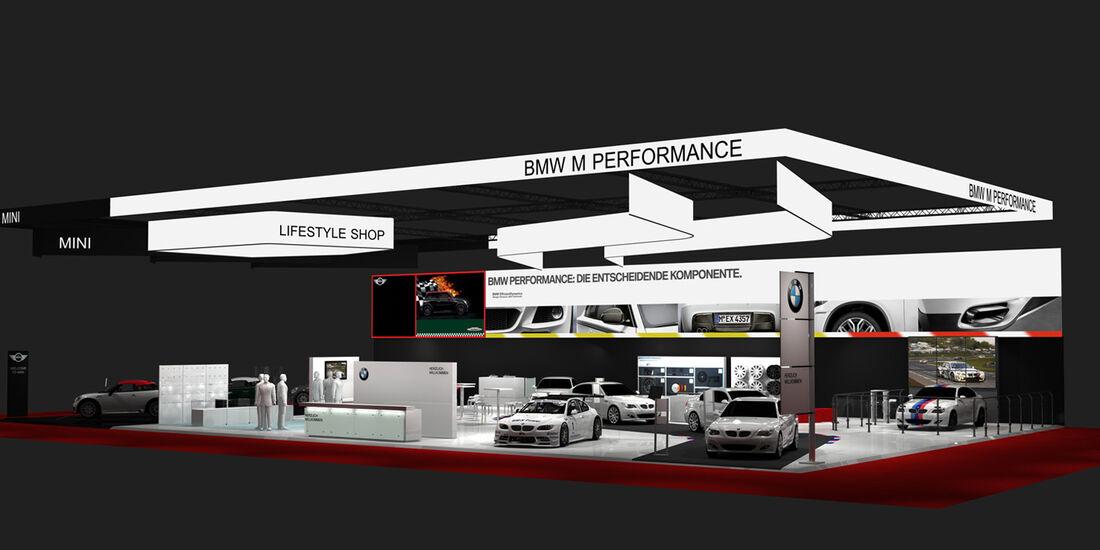 BMW Messestand Essen Motor Show 2013