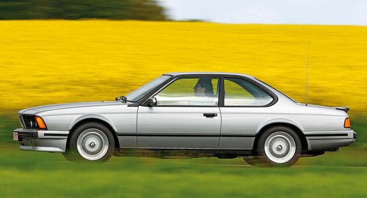 BMW Sechser-Reihe (E24), Seitenansicht