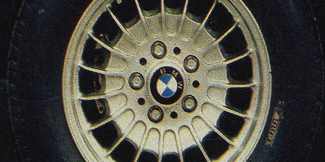 BMW, Siebener, Felgen, IAA 1979