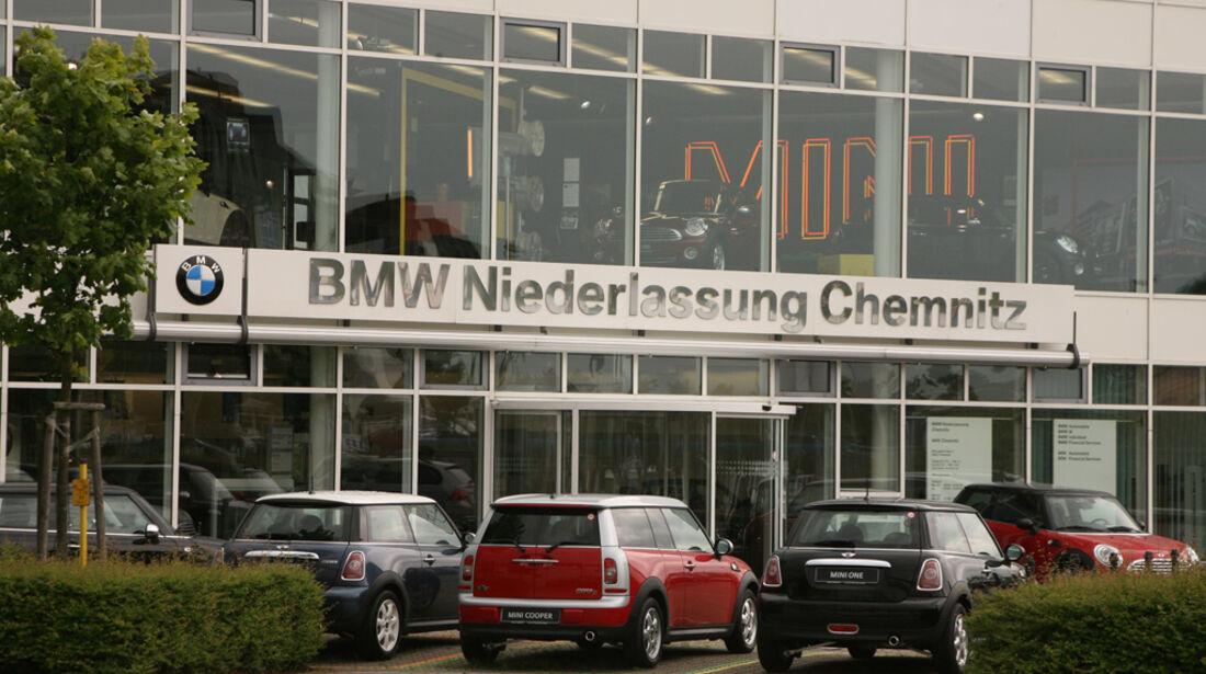 BMW Werkstatt, BMW Niederlassung Chemnitz