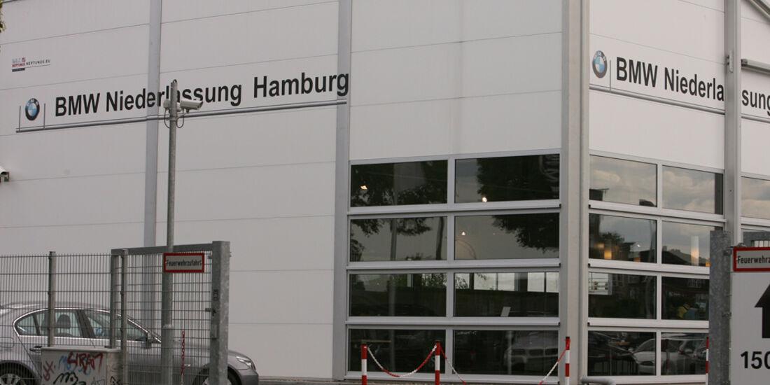 BMW Werkstatt, BMW Niederlassung Hamburg City Süd