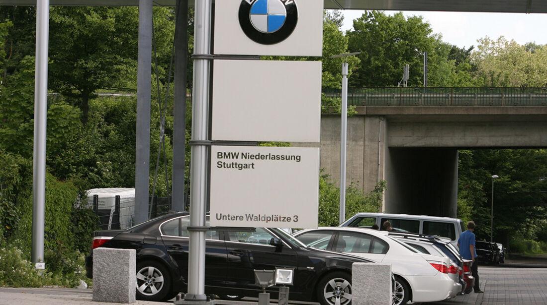 BMW Werkstatt, BMW Niederlassung Stuttgart