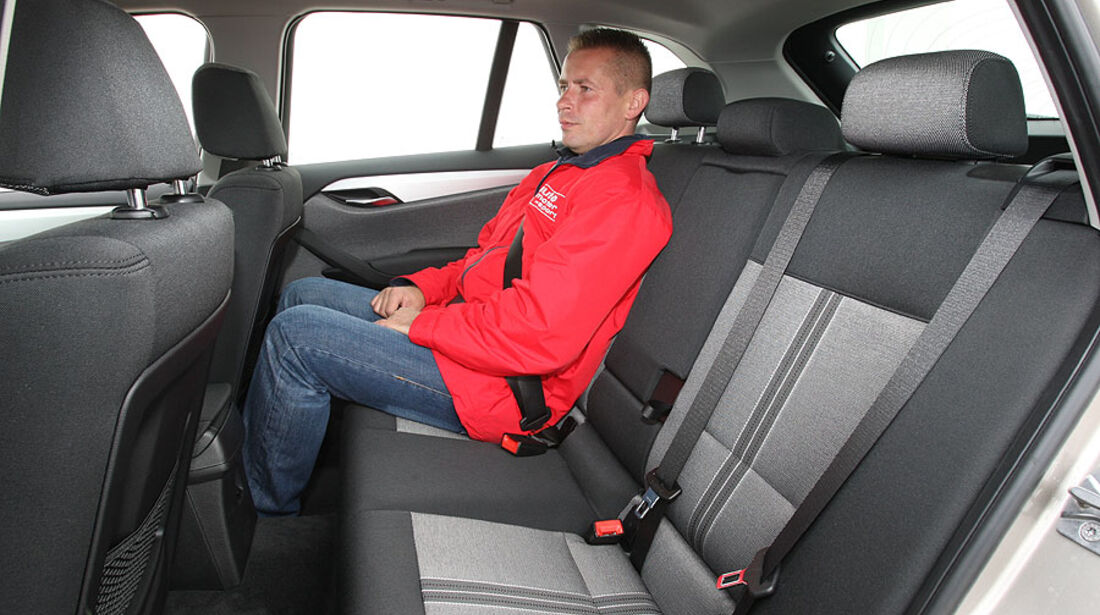 BMW X1, Mini Countryman, Innenraum