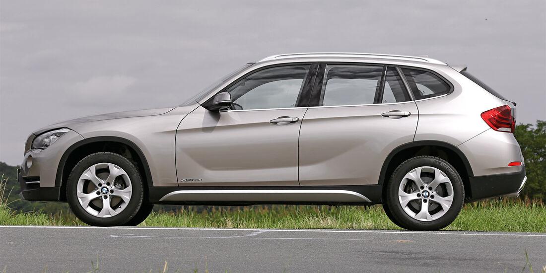 BMW X1 x-Drive 18d, Seitenansicht