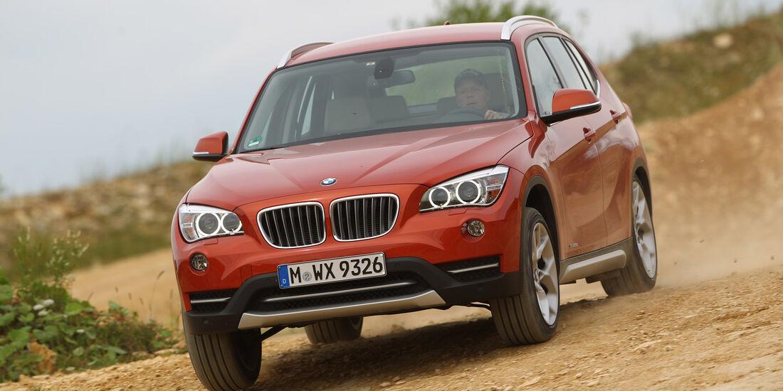 BMW X1 x-Drive 25d, Frontansicht