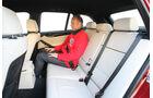 BMW X1 x-Drive 28i, Rücksitze