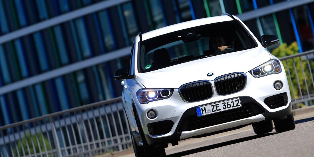 BMW X1 xDrive 20d, Frontansicht